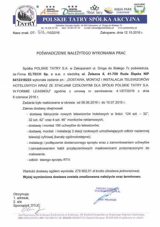 Polskie Tatry S.A.