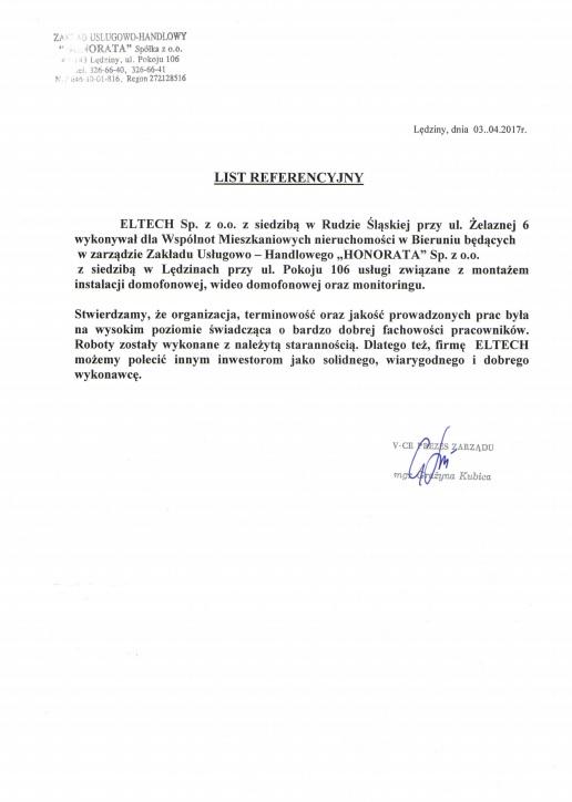 Wspólnoty Mieszakniowe Nieruchomości w Bieruniu (HONORATA)