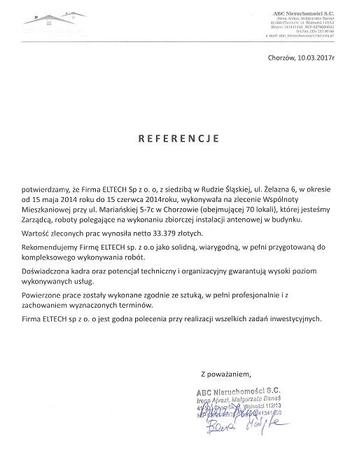 Chorzów, Mariańska 5-7c, anteny