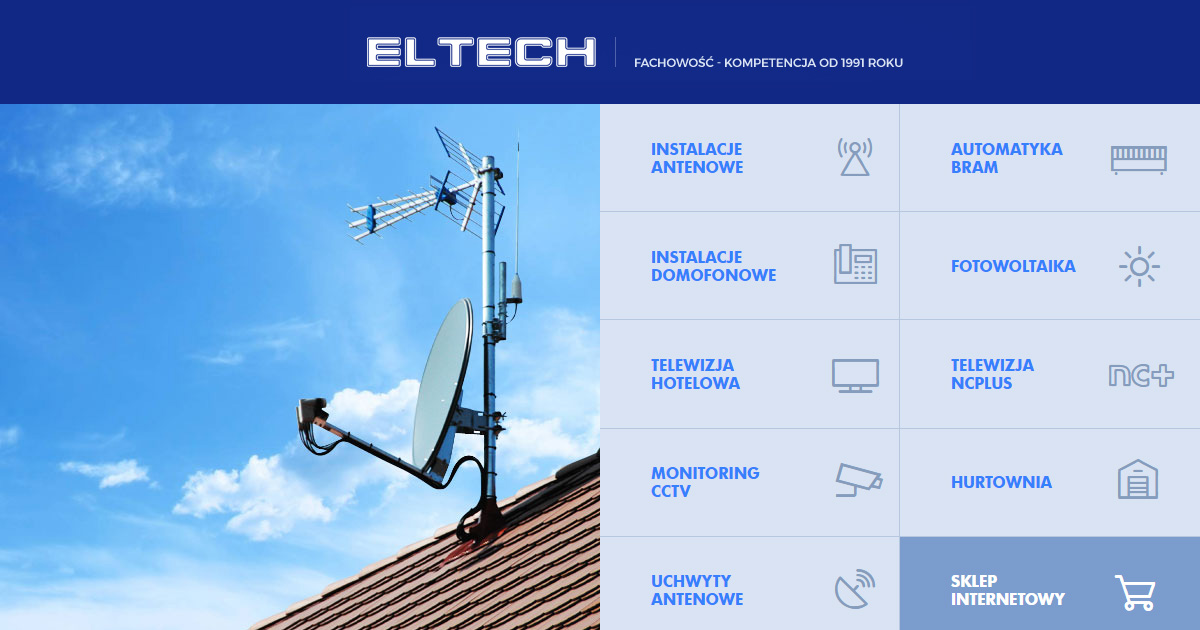 Eltech :: Uchwyty antenowe